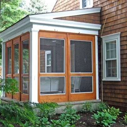 3 season porch system kb resourcekb resource for Prefab screened porches