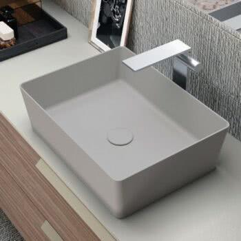 Hastings Tile Bath - Modo Basin Blade Solid