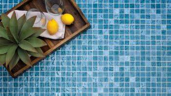 Island Stone Lava Glass Mosaic Tiles