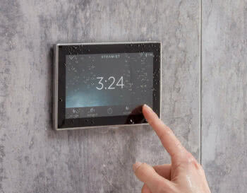 Steamist Patented Dual-Sensor Control Technology in Steam Showers