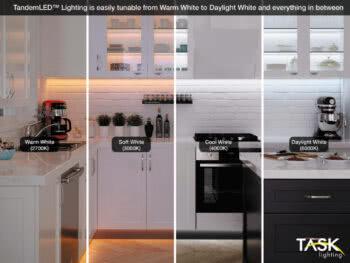 Task Lighting New Tunable LEDs Set the Mood