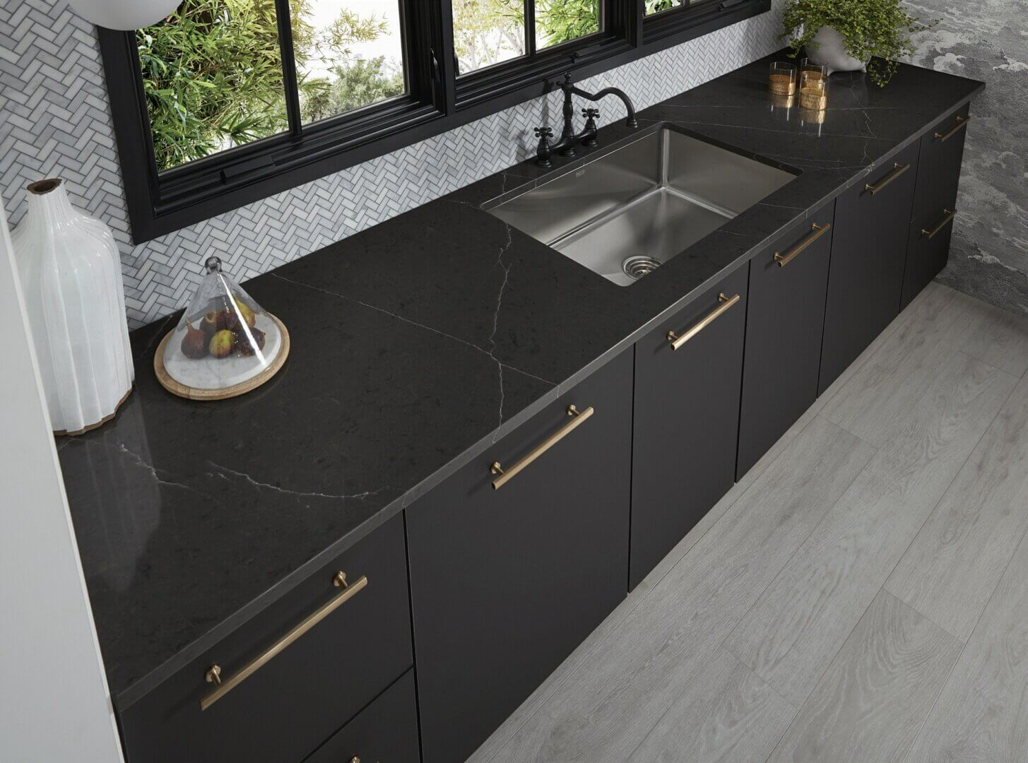 Wilsonart new Quartz designs express textures, colors and patterns inspired by the earth's ancient mineral compositions.