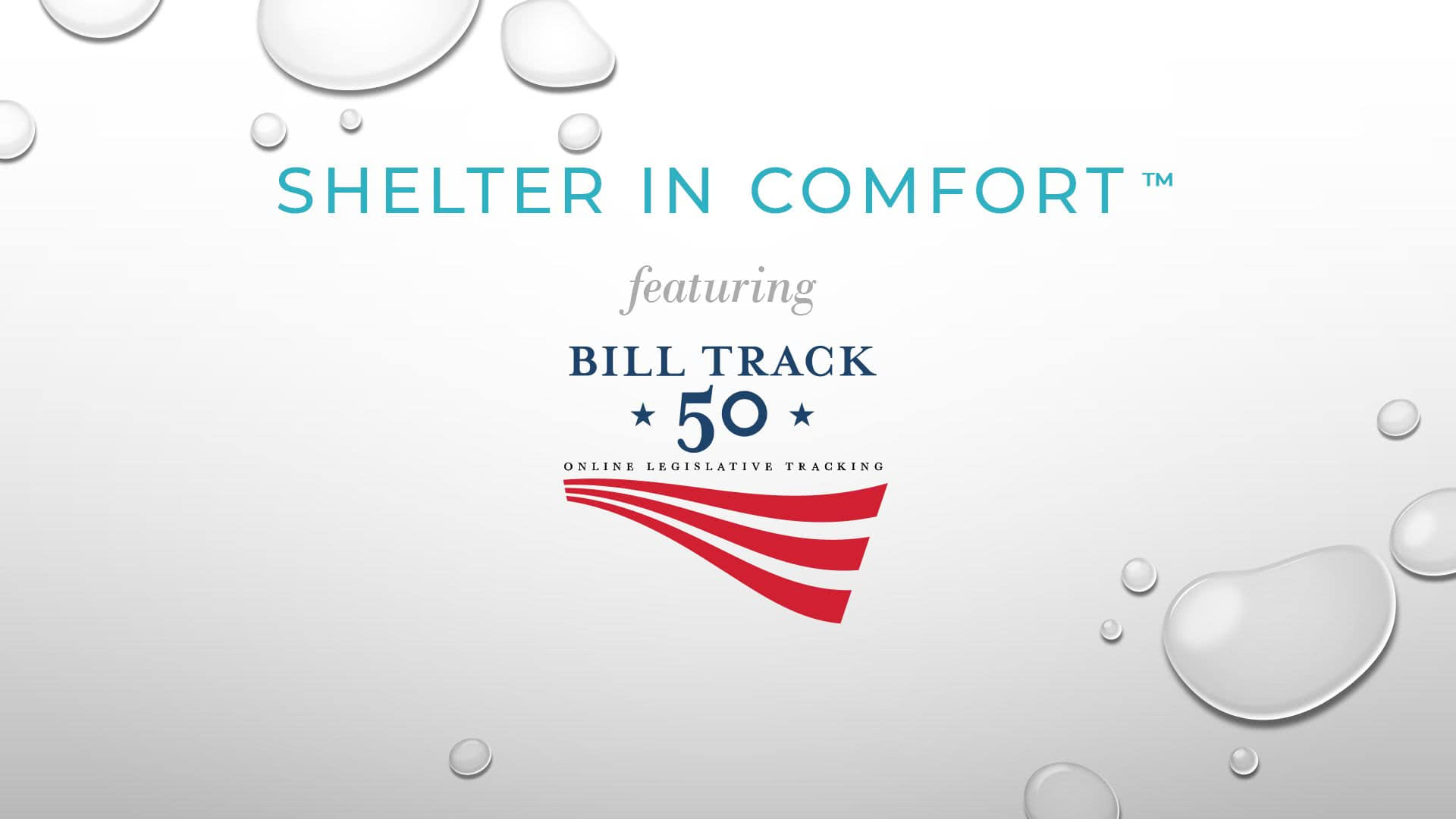 Shelter in Comfort: featuring BillTrack50