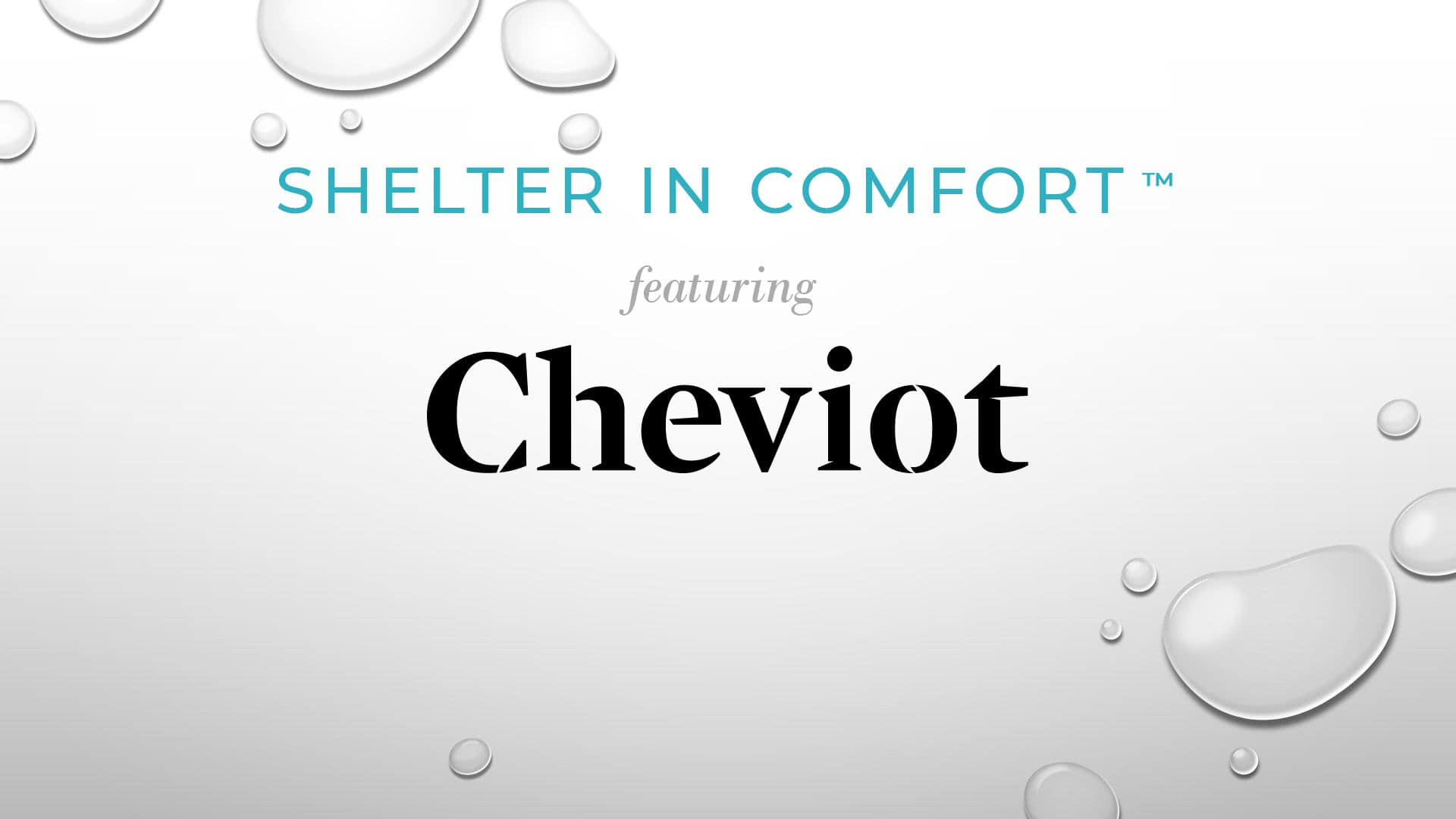 Shelter in Comfort: featuring Cheviot