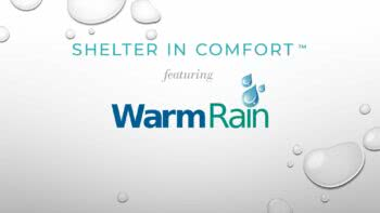 Shelter in Comfort: featuring Warm Rain