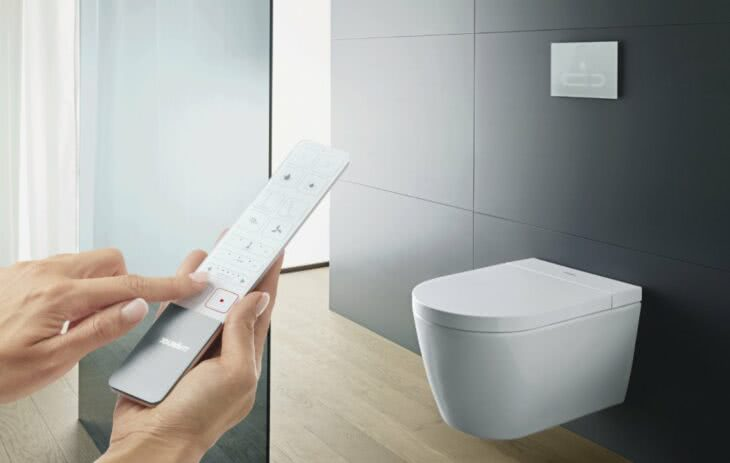 New Shower - Toilet Generation with the Debut of SensoWash® Starck f