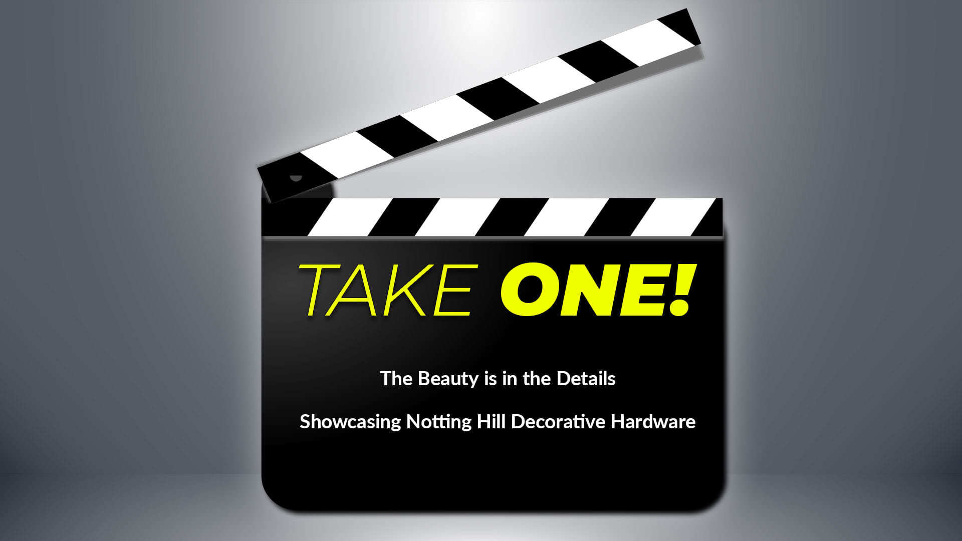 TAKE ONE: Notting Hill Decorative Hardware