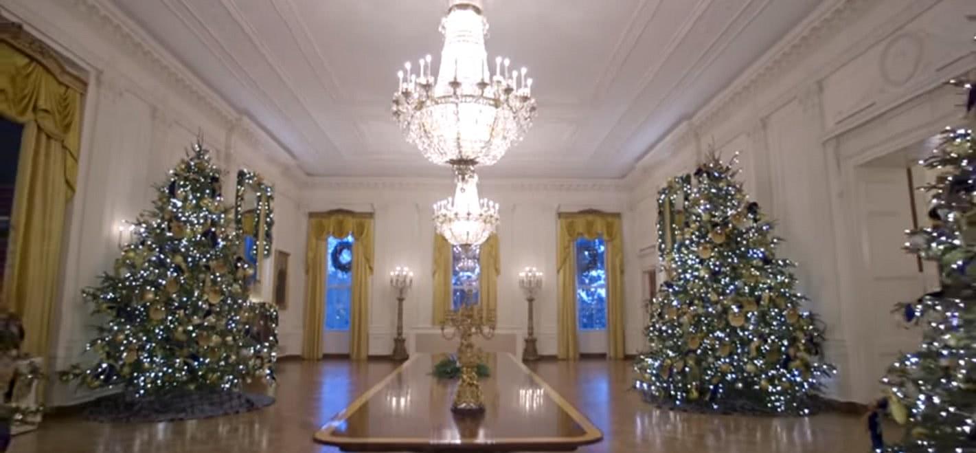 Kim Eggert White House Christmas